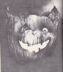 Creepy Halloween Poem Razorwire Pictures Stephen Gammell U0027s World Of Horror