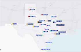 Amarillo Texas Map Texas Association Of Sports Officials
