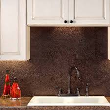 Fasade Kitchen Backsplash Panels Fasade Backsplash Hammered In Smoked Pewter