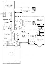 House Plans Colonial Fascinating Open Floor Plan Colonial Homes House Plans Pinterest