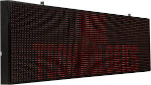 ngx led display board led displays retail automation products