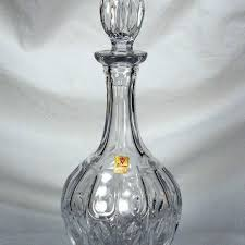 Antique Lead Crystal Vase Shop Vintage Crystal Decanter On Wanelo