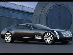 concept rolls royce cadillac sixteen concept v16 concept car designed to compete with