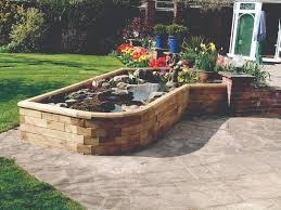 Retaining Wall Garden Bed by Curved Pond Design Customers Projects Pinterest Raised
