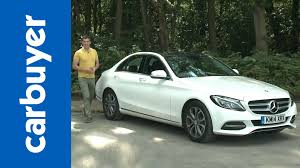 mercedes c class review 2015 mercedes c class saloon review carbuyer