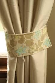 Curtain Holdback Ideas The 25 Best Homemade Curtain Tiebacks Ideas On Pinterest
