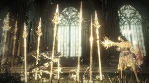 Ds3 Deacons Of The Deep Halflight Spear Of The Church Dark Souls 3 Wiki