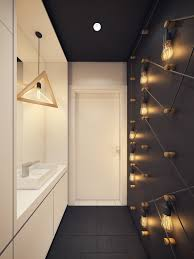 Bathroom Lights Ideas by A Modern Scandinavian Inspired Apartment With Ingenius Features
