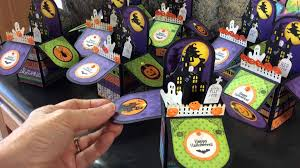 halloween 2014 silhouette box card youtube