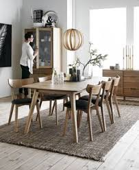 Round Table And Chairs From Dania Condo Pinterest Rounding - Scandinavian kitchen table