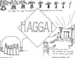 this free coloring page is based on the book of haggai it u0027s one