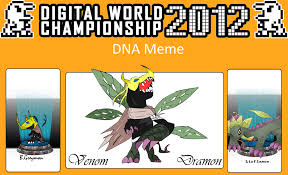 Dna Meme - dna meme venom dramon by lucho9 on deviantart