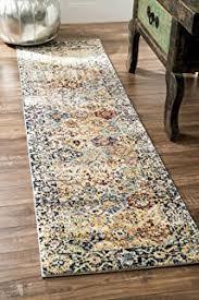 amazon com 2 u0027 x 8 u0027 ultra plush non slip rug pad for hard surfaces