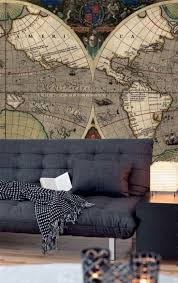 Wall Map Murals 7 Best Old Vintage World Map Murals Walls Republic Images On