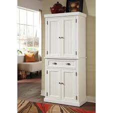 nantucket white distressed finish pantry by home styles free