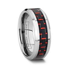 durable wedding bands durable carbon fiber wedding band jewelry for 8mm skymbu