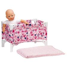 Dolls Changing Table Corolle Les Classiques Floral Doll Bed And Changing Table Dolls
