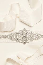 wedding sashes and belts bridal sashes wedding dress belts david s bridal