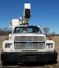 Ford F700 Hood And Fenders - 1994 ford f700 bucket truck item db2318 sold march 2 co