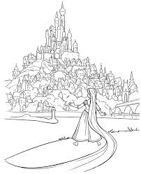 tangled coloring pages for christmas rapunzel colouring pages to