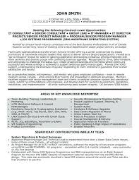 Senior Manager Resume Template It Manager Resumes Lukex Co