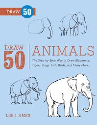 draw 50 animals by lee j ames penguinrandomhouse com