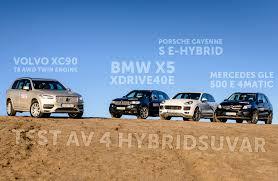 Porsche Cayenne X5 - bmw x5 mercedes gle porsche cayenne och volvo xc90 test