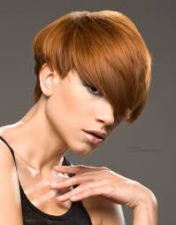 sporty short haircut low maintenance and with a graduated back to