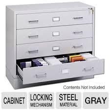 safco 4930lg computer multi media storage cabinet gray at