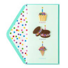 birthday beaded treats birthday cards from papyrusonline
