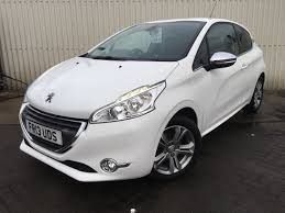 peugeot 208 sedan 2013 13 peugeot 208 1 2 vti allure 3dr in white youtube