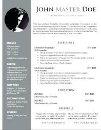 word document resume format ceo resume sle doc 10 templates free word pdf buckey us