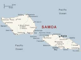 map samoa samoa map my