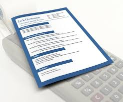 accounting u2013 free cv template dot org