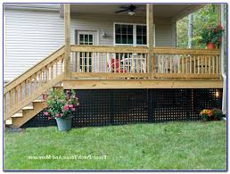 raised deck skirting ideas decks home decorating ideas re2vr3k2qx