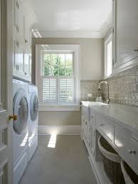 White Laundry Room Cabinets Best Laundry Room Colors Houzz