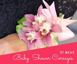 best baby shower 37 inspiring baby shower corsages cheekytummy