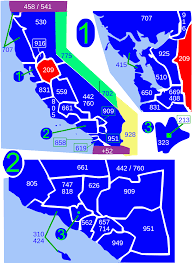 Map Of Phoenix Zip Codes by Area Code 209 Wikipedia