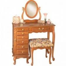 Oak Makeup Vanity Table Oak Vanity Table Foter