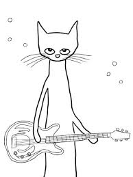 pete cat coloring free printable coloring pages