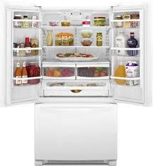 Whirlpool Inch French Door Refrigerator - whirlpool wrf535smbw 36 inch french door refrigerator with
