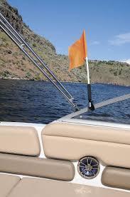 Boat Flag Mount Product Test No 101 Flagbuddy Pontoon U0026 Deck Boat Magazine