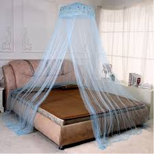 Mosquito Net Bed Canopy Bedroom Dome Shaped Bugs Mosquito Net Bed Canopy Whiteblue