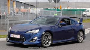 frs toyota 86 high performance aero kit spotted on the 2013 scion fr s at german
