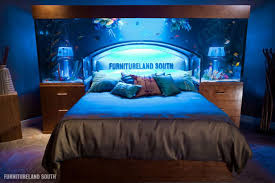 Bed Head Meaning A Massive Custom Made Seawater Aquarium Headboard