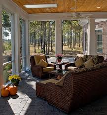Modern Wicker Furniture by Designs Ideas Awesome Sunroom With Modern Wicker Furniture And
