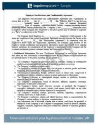 non disclosure confidentiality agreement create an nda