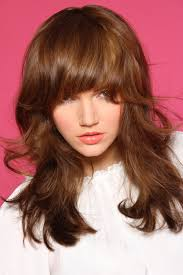 layered medium length hairstyles with bangs benniefactor benniefactor brunette layers bangs highlights