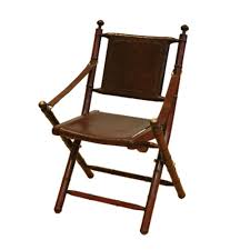 Folding Chair Leather Dining Room Comfortable Folding Chairs With Black Leather Seat