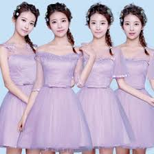 distributors of discount lavender junior bride dresses 2017
